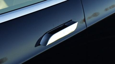 Tesla Model S door handle