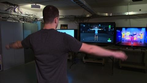 Fitness video games get a workout