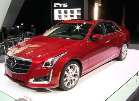 2014 Cadillac CTS at the NY Auto Show