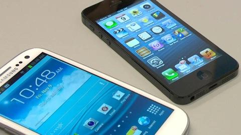iPhone 5 vs. Android smart phones