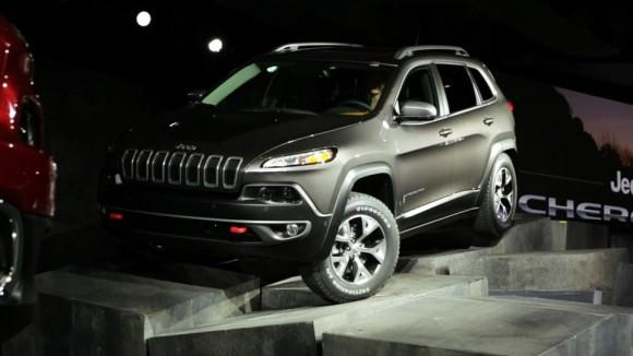 2014 Jeep Cherokee at the NY Auto Show