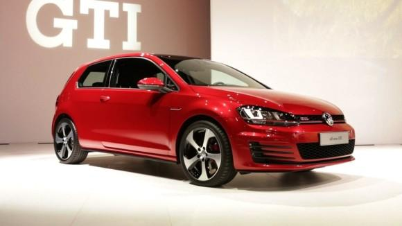 2014 Volkswagen Golf at the NY Auto Show