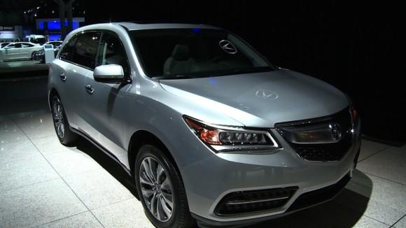 2014 Acura MDX at the NY Auto Show