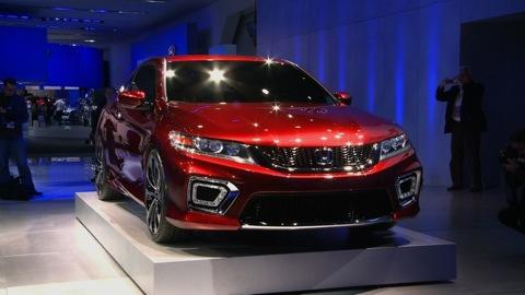 Detroit Auto Show 2012: Honda Accord Coupe