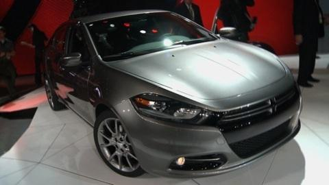 Detroit Auto Show: 2013 Dodge Dart