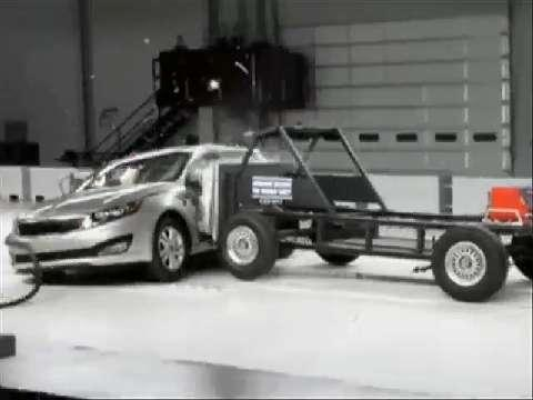 Kia Optima crash test 2011-2012