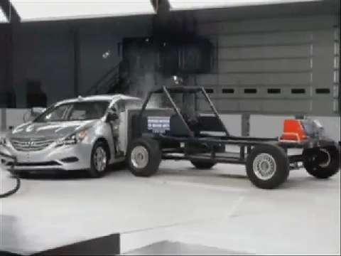Hyundai Sonata crash test 2011-2012