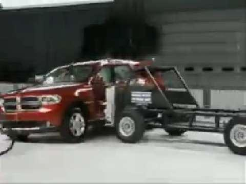 Dodge Durango crash test 2011-2012