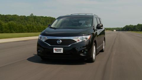 Nissan Quest 2011-2015 Road Test