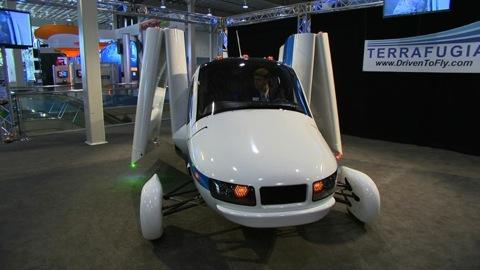 NY Auto Show: Terrafugia flying car