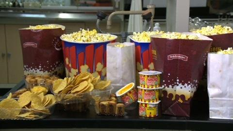 Diet-busting movie-theater food