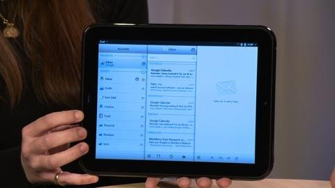 HP TouchPad first look