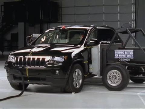 Jeep Grand Cherokee crash test 2011-2012