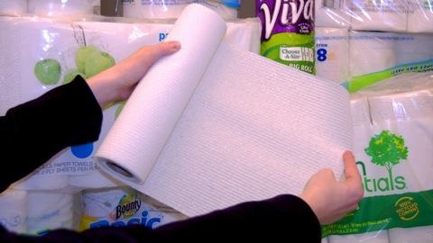 Tough tests for paper towels