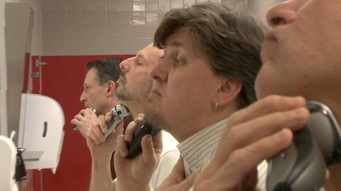 Testing electric shavers