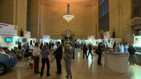 75th-anniversary event at Grand Central Terminal