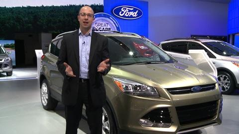 Detroit Auto Show: 2013 Ford Escape
