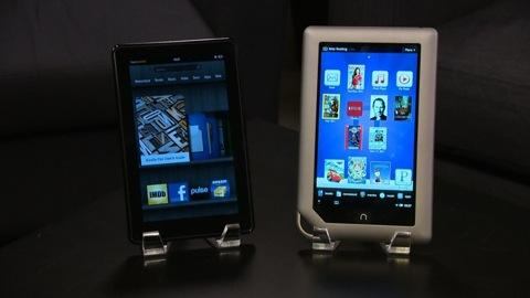 Kindle Fire vs. Nook Tablet