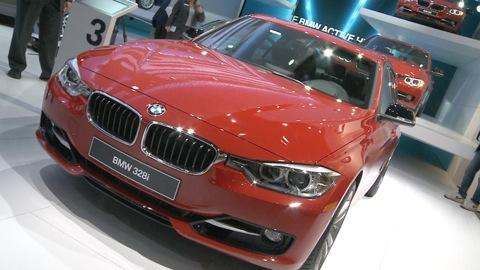 Detroit Auto Show: 2013 BMW 3 Series