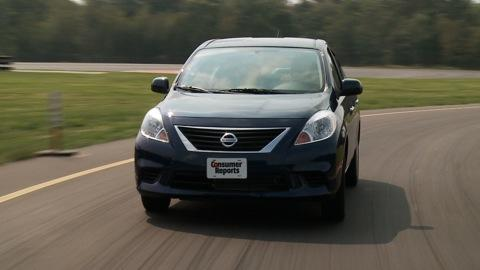 Nissan Versa 2012-2015 Road Test