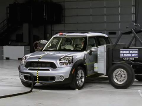 Mini Countryman crash test 2011-2012