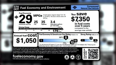 New fuel-economy labels