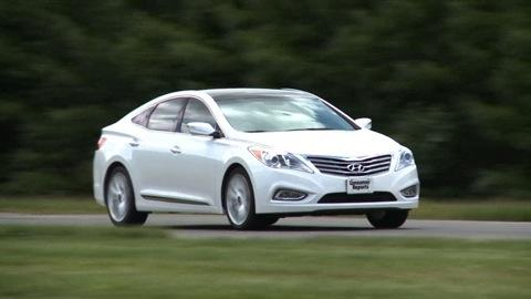Hyundai Azera 2012-2016 Road Test