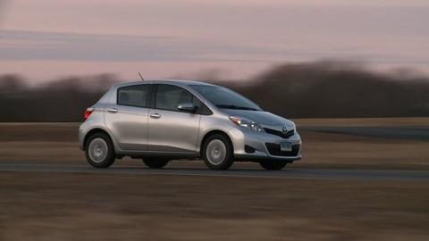 Toyota Yaris 2012 2014 Road Test