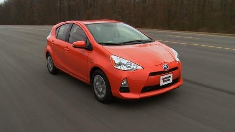 2012 Toyota Prius c First Drive