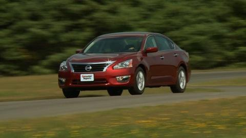 Nissan Altima 2013-2015 Road Test