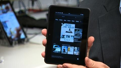 Amazon Kindle Fire HD first look