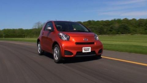 Scion iQ 2012-2015 Road Test