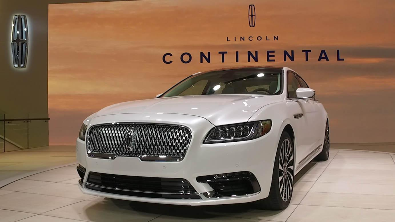 Lincoln Continental 2017 2018 Quick Drive