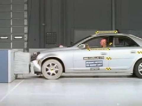 Cadillac CTS Crash Test 2003-2007