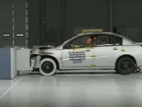 Saturn Ion crash test 2003-2007