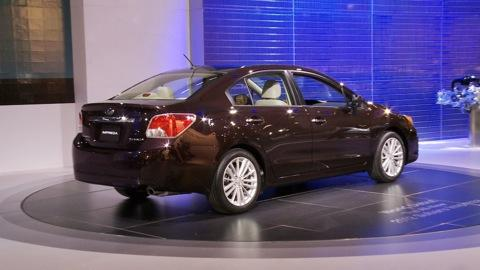 Subaru Impreza: 2011 NY Auto Show