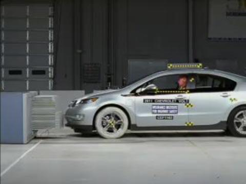 Chevrolet Volt crash test 2011-2012