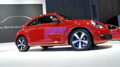 Volkswagen Beetle: 2011 NY Auto Show