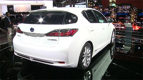 Lexus CT 200h: 2011 Preview