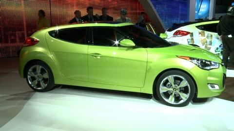 2011 Detroit Auto Show: Hyundai Veloster