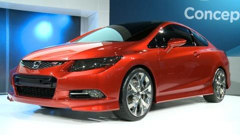 2011 Detroit Auto Show: Honda Civic