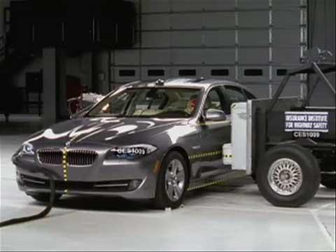 BMW 5 Series crash test 2011-2012