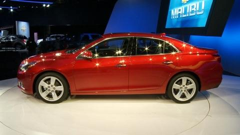 Chevrolet Malibu: 2011 NY Auto Show