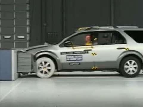 Ford Freestyle crash test 2005-2007