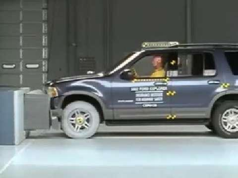 Ford Explorer crash test 2002-2005