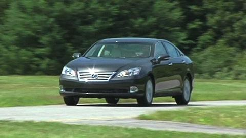 Lexus ES 2007-2012 Road Test