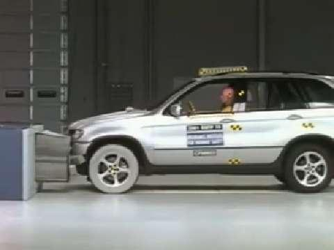 BMW X5 crash test 2001-2006