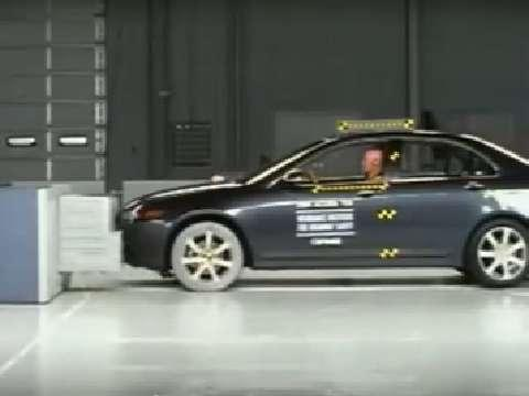 Acura TSX crash test 2004-2008