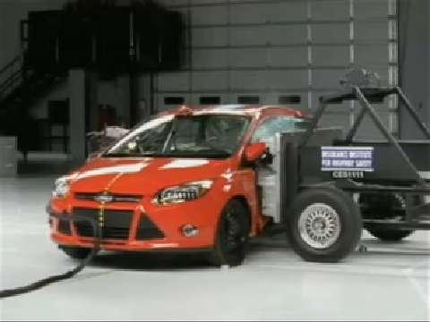 Ford Focus crash test 2012