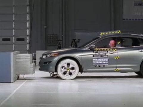 Honda Accord Crosstour Crash Test 2010